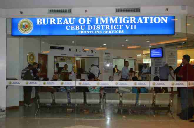 cebu immigration
