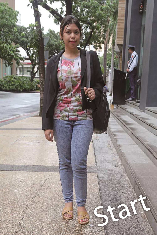 ラセル・アベラさん Ms. Ruzel Abella, 24 Accounting Staff