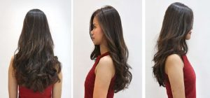 Modern Soft Wavy Style しっかりレイヤーを入れ毛先をカールをつけることにより、動きを最大限に表現したスタイル。カラーはアッシュカラー。大人な女性らしさを演出。 This hairstyle shows the smooth flow of the hair with firm layering and by adding curls at the tip. Using an Ash shade hair color is also perfect to give off a more feminine look.