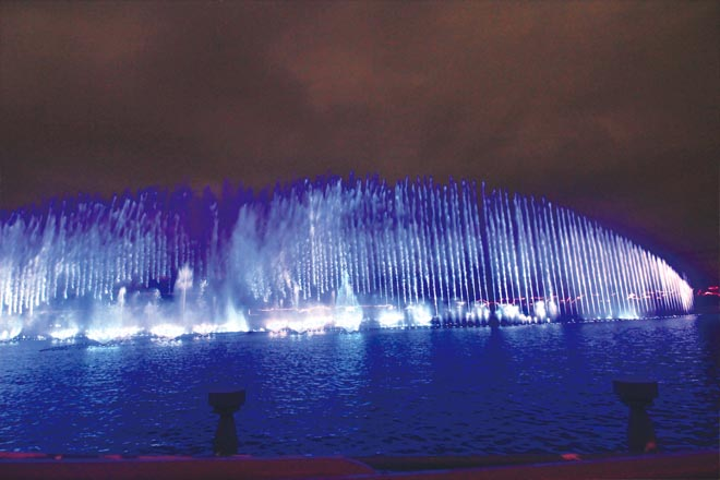 The Fountain at Okada Manila