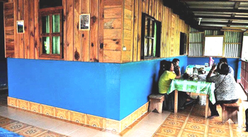 Suzette's Maligcong Homestay's Terrace