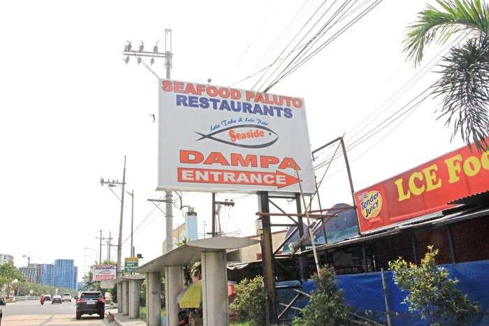 地元客はもちろん観光客にも人気  Dampa is popular with locals as well as tourists