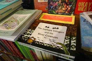 バギオを拠点とするNGOが出版したカリンガ族に伝わる民話の絵本A folktales picture book transmitted to the Karinga tribe published by Baguio-based NGO